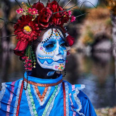 Catrina Isla Xochimilco